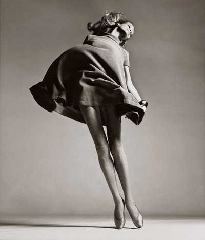 Veruschka. dress by Bill Blass. New York. January 1967. Richard Avedon