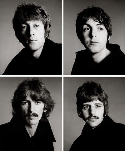 The Beatles. London. August 11. 1967. Richard Avedon