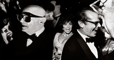 Academy Awards. Irving (Swifty) Lazar. Elisabeth Taylor. Jack Nicholson. Los Angeles. California. March 29. 1993. Richard Avedon